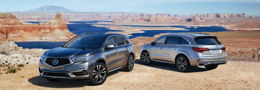 Differences Between The 2018 Vs 2019 Acura Mdx