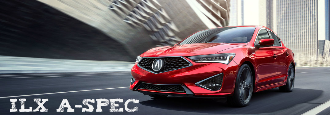 2019 Acura ILX A-Spec Red