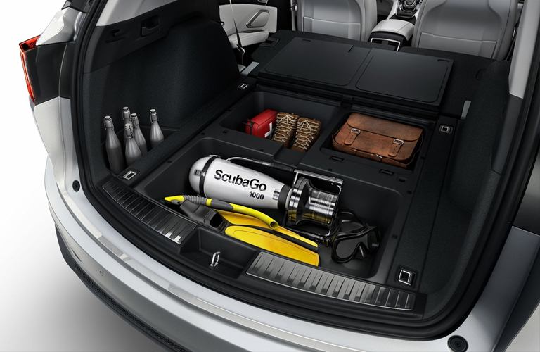 extra cargo space inside the 2019 Acura RDX