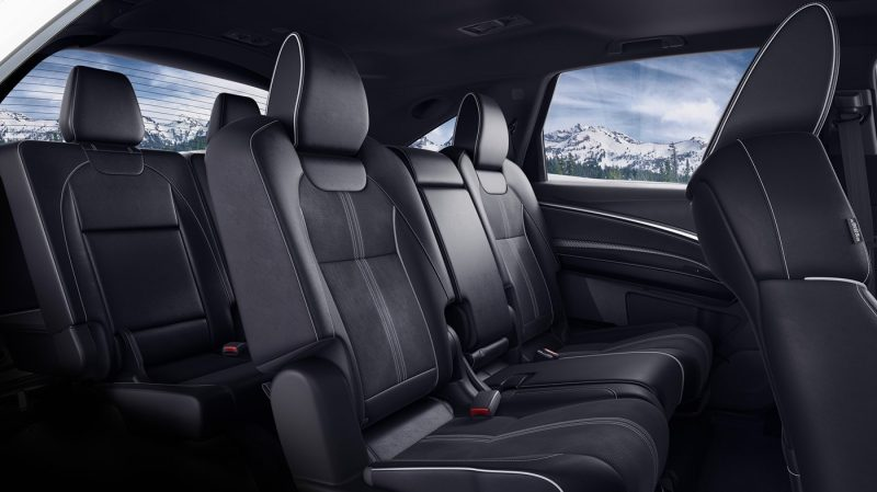 Third Row Seating >> Which Acura Suv Offers Three Row Passenger Seating