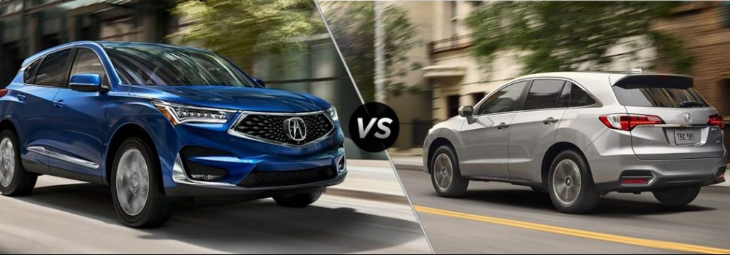 Compare 2020 Vs 2019 Acura Rdx Memphis Tn