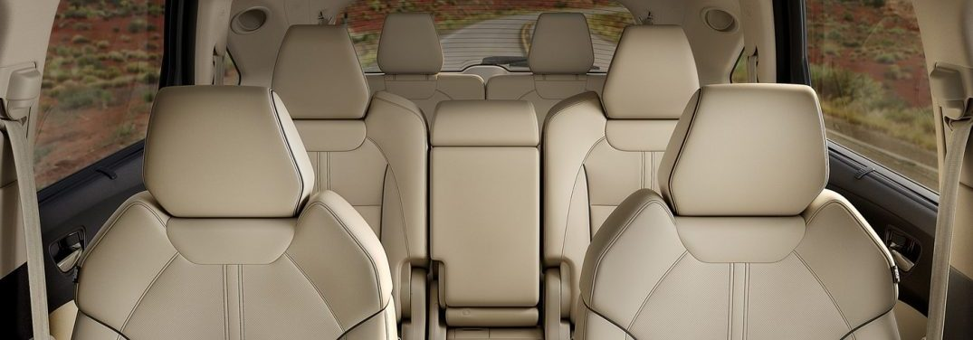 interior seating area of the 2019 Acura MDX