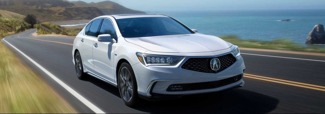 exterior front of the 2019 acura RLX