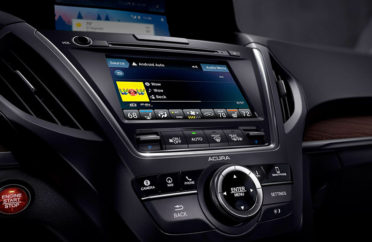 2019 Acura MDX infotainment system
