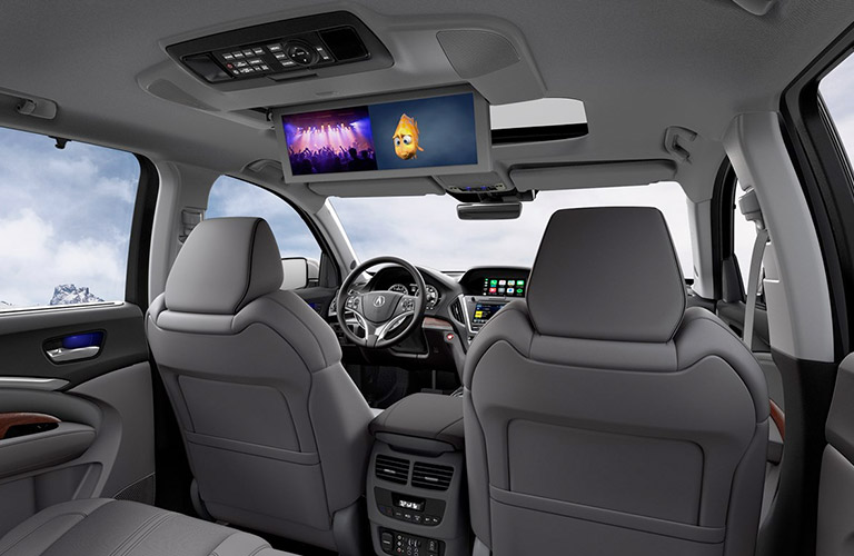 2019 Acura MDX dual entertainment screen