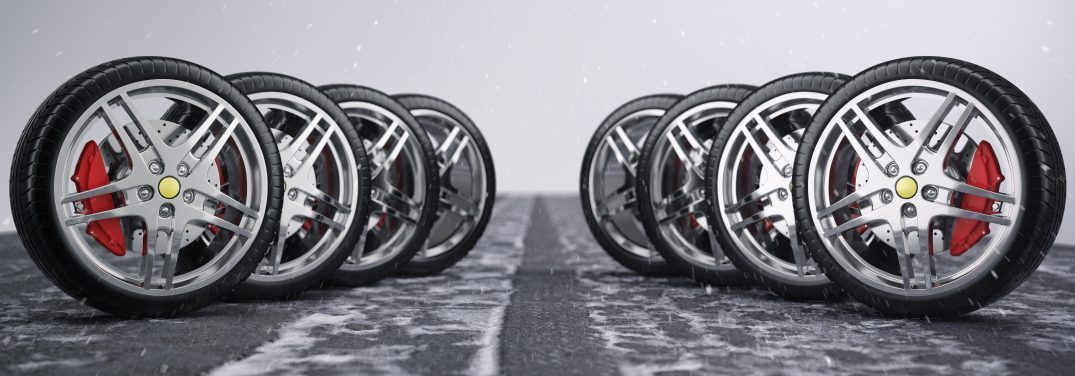 line of tires