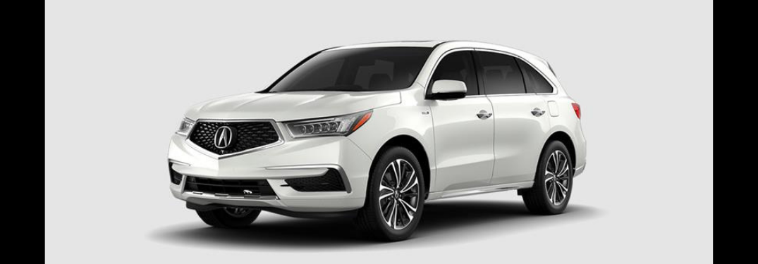 What packages are available with the 2019 Acura MDX Sport Hybrid?