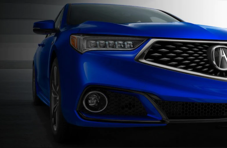 2020 Acura TLX front