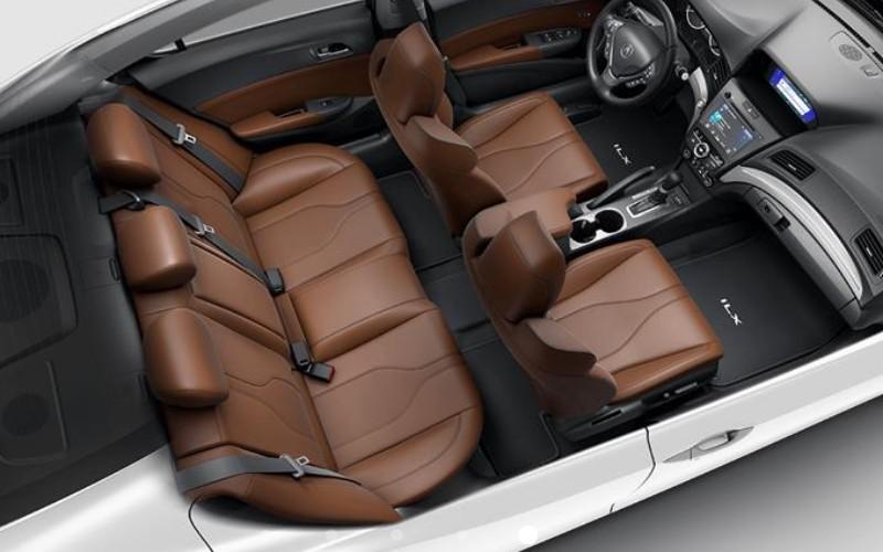 2020 Acura ILX with Espresso interior