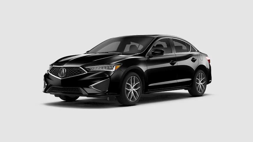 2020 Acura ILX in Majestic Black Pearl