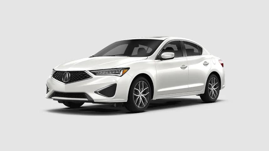 2020 Acura ILX in Platinum White Pearl
