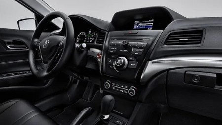 Front interior inside the 2020 Acura ILX