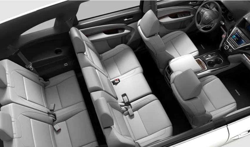 2020 Acura MDX Interior in Greystone