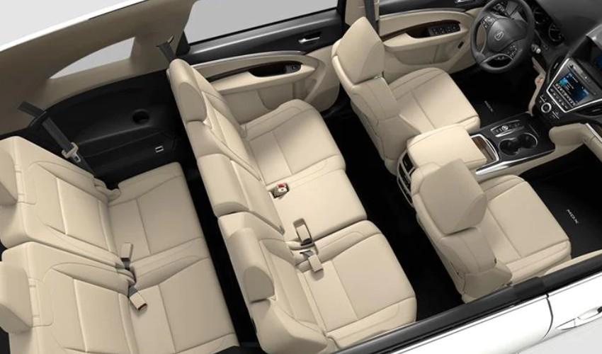 2020 Acura MDX Interior in Parchment