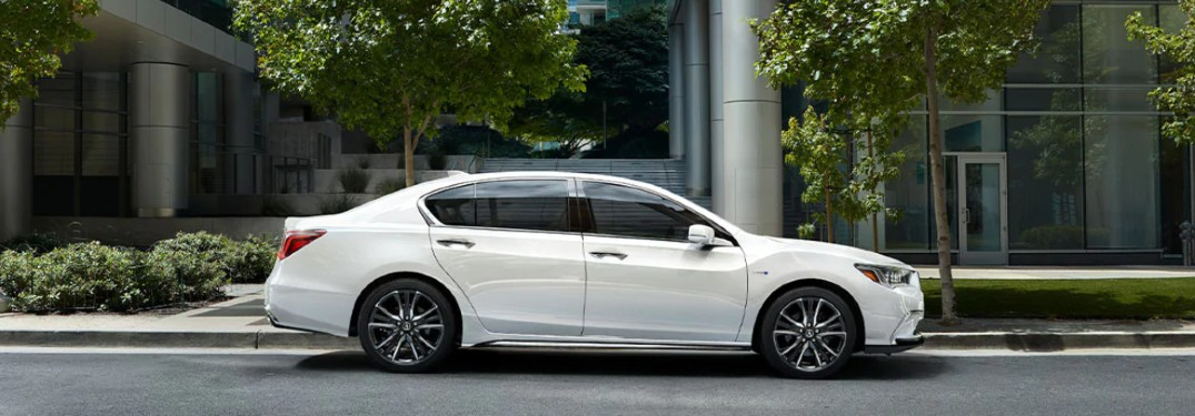 How Many Colors are Available for the 2020 Acura RLX?