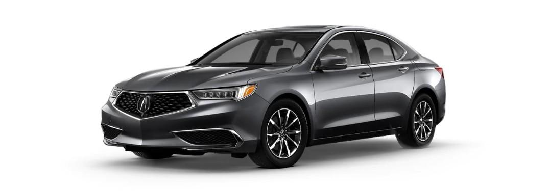 Grey 2020 Acura TLX standard model
