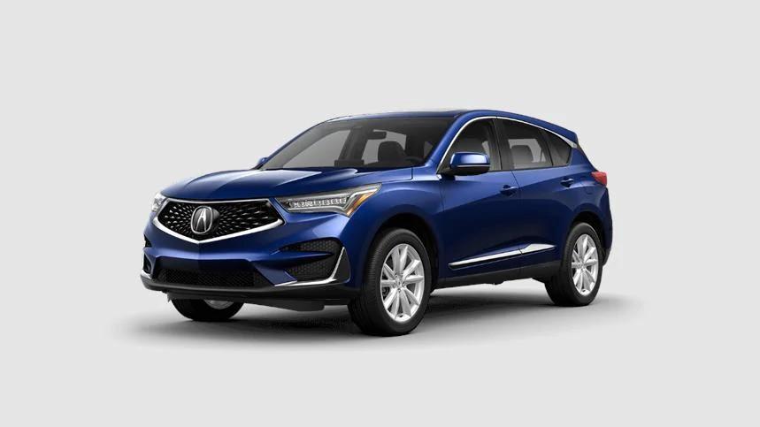 2021 Acura RDX Fathom Blue Pearl