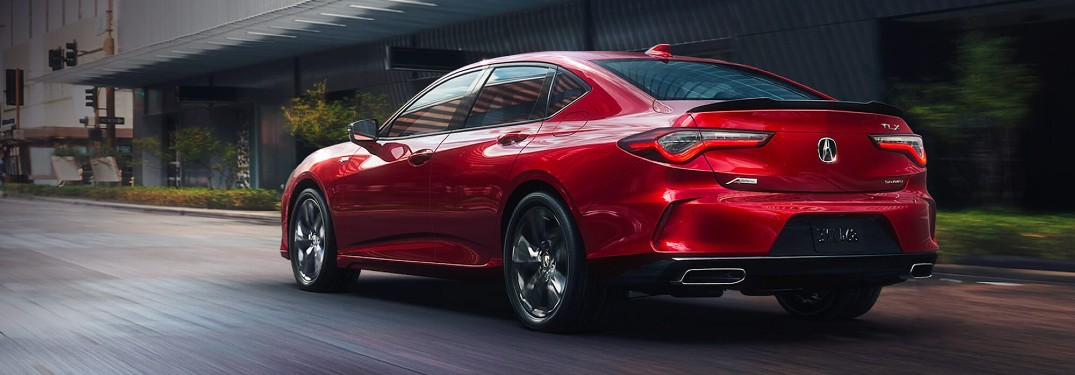 Which Colors are Available for the 2021 Acura TLX?