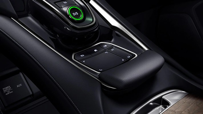 True Touchpad Interface inside the 2021 Acura RDX