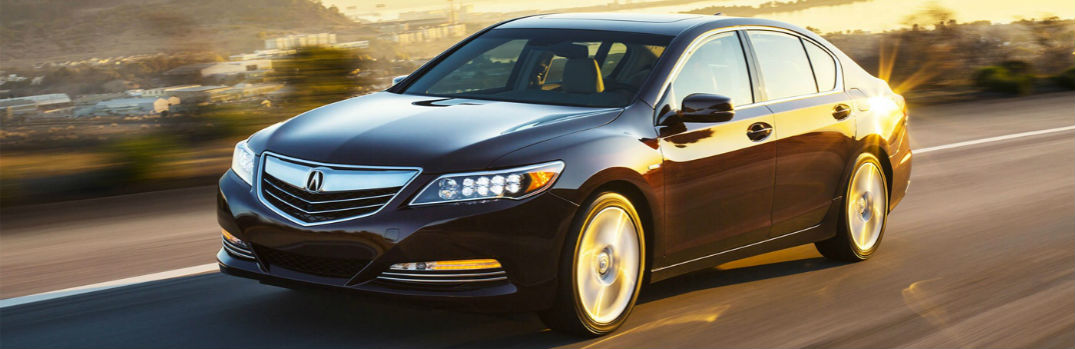 2017 Acura RLX Interior & Exterior Color Options