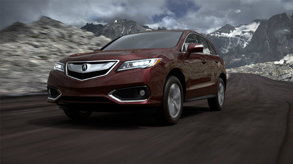 2018 Acura RDX Basque Red Pearl