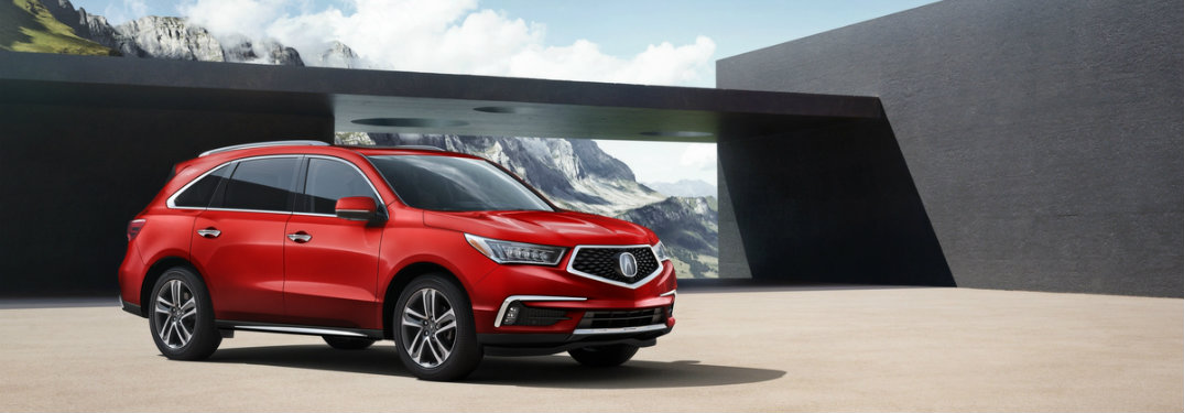 2018 Acura MDX updates and new features