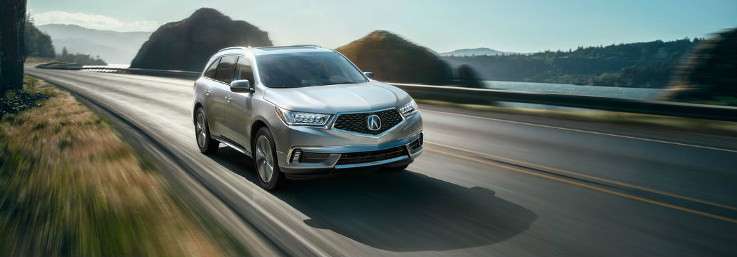 Top features in the 2017 Acura MDX