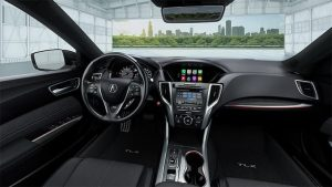 2018 Acura TLX Interior Black
