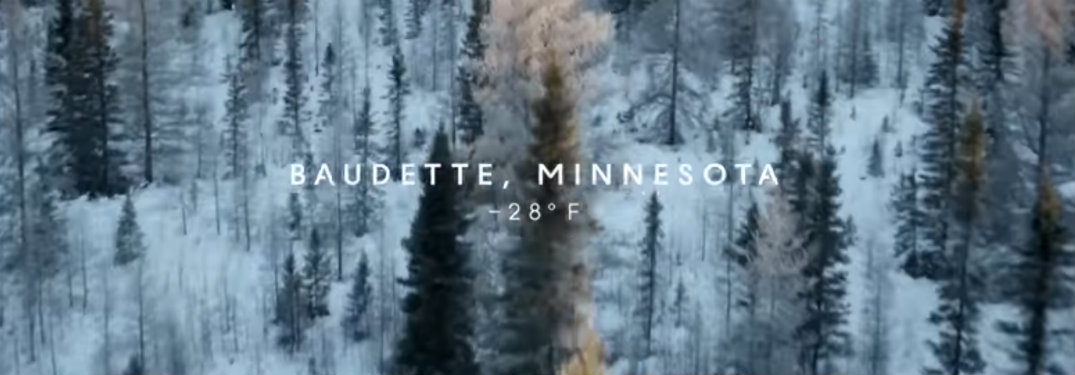 Opening scene from Baudette MN testing of the Acura AWD system