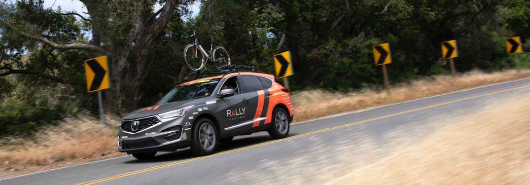 Side profile 2019 Acura RDX Rally Cycling Wrap