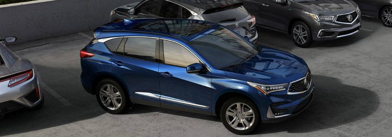 2019 Acura RDX in Metallic Blue