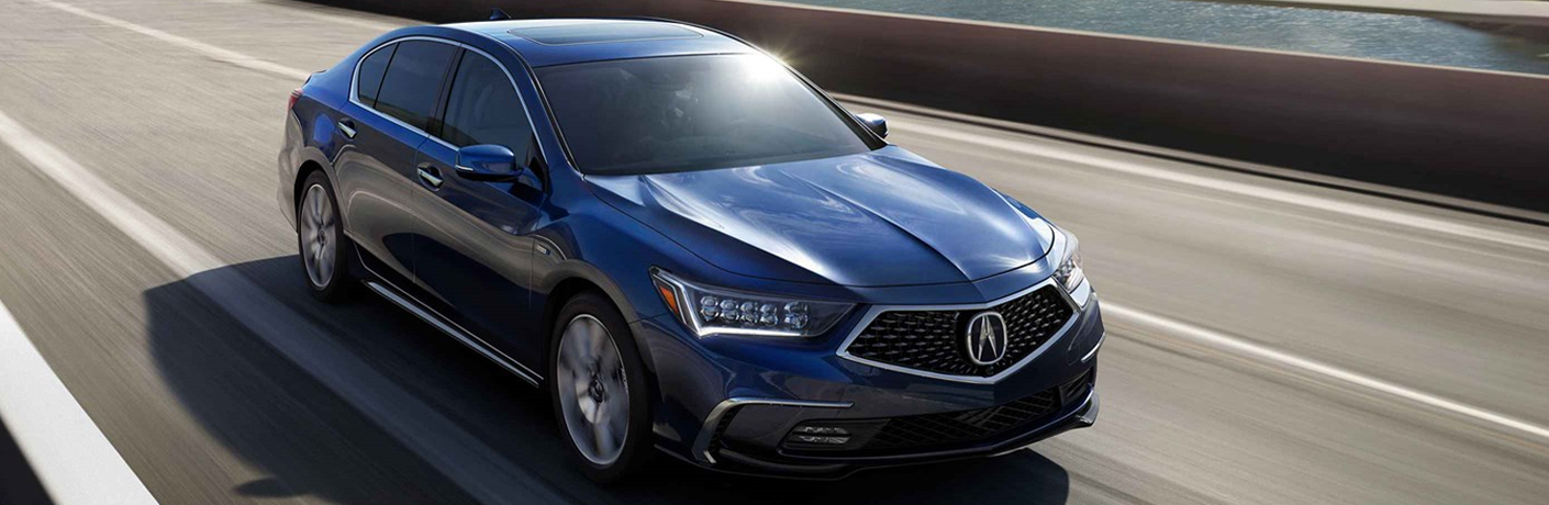 Design features of the 2019 Acura RLX