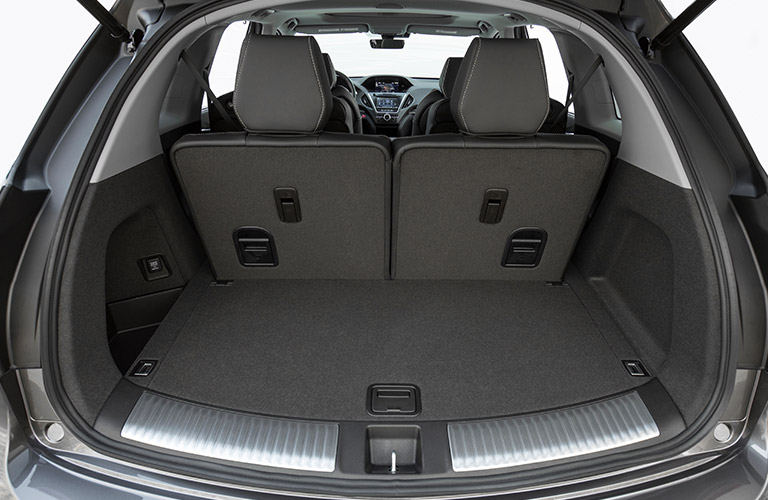 How much space is there inside the 2019 Acura MDX?