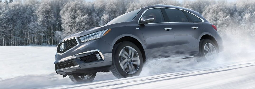 2019 Acura MDX with AWD