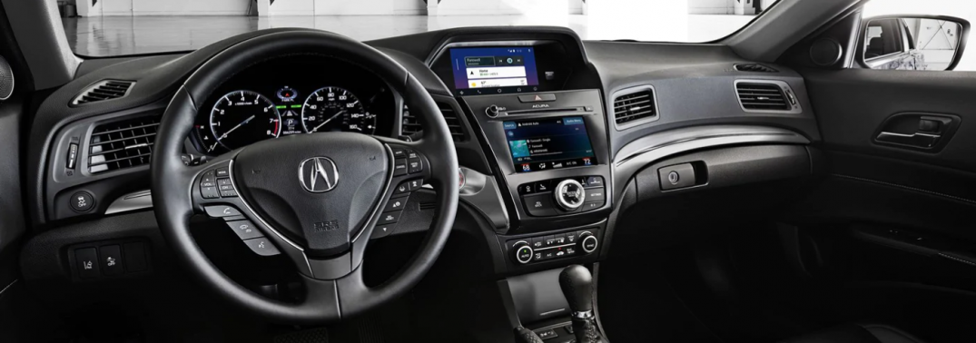 interior front of the 2019 Acura ILX