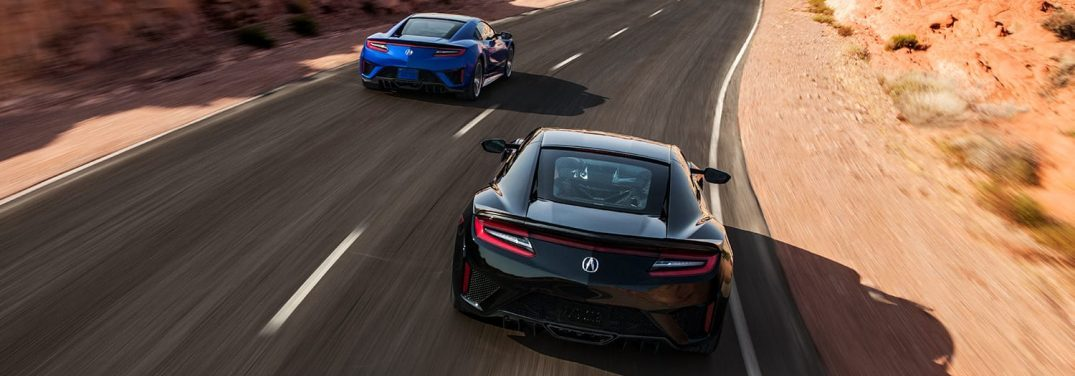 View the Exterior Paint Colors Available for the 2019 Acura NSX