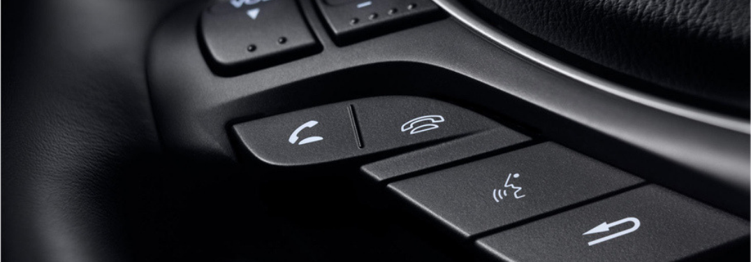 phone calling buttons on acura steering wheel