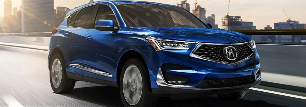 2020 Acura RDX Exterior Color Options