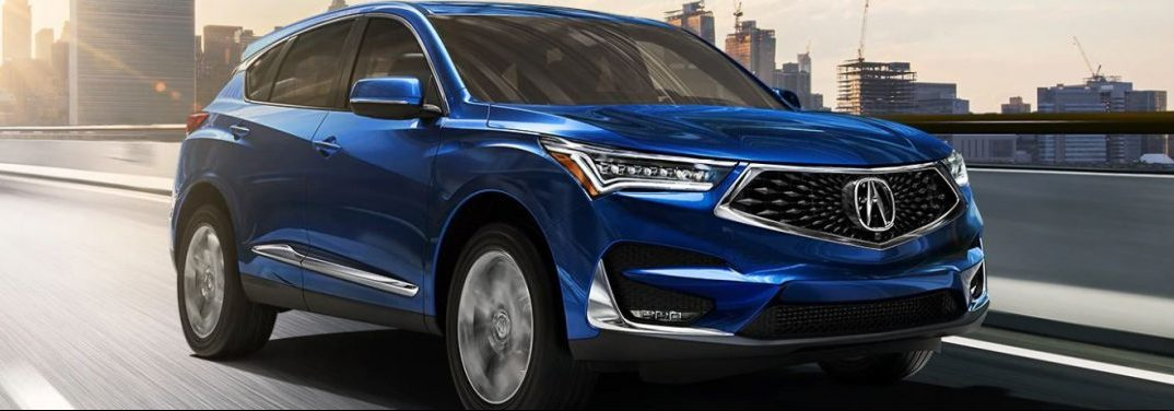 What Features Come Standard With The 2020 Acura Rdx