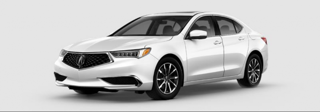2020 Acura TLX exterior front