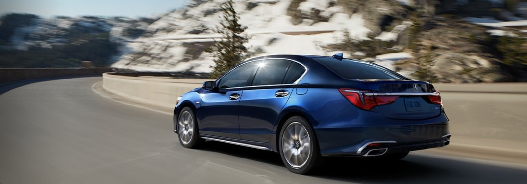 What are the Exterior and Interior Color Options for the 2020 Acura RLX?