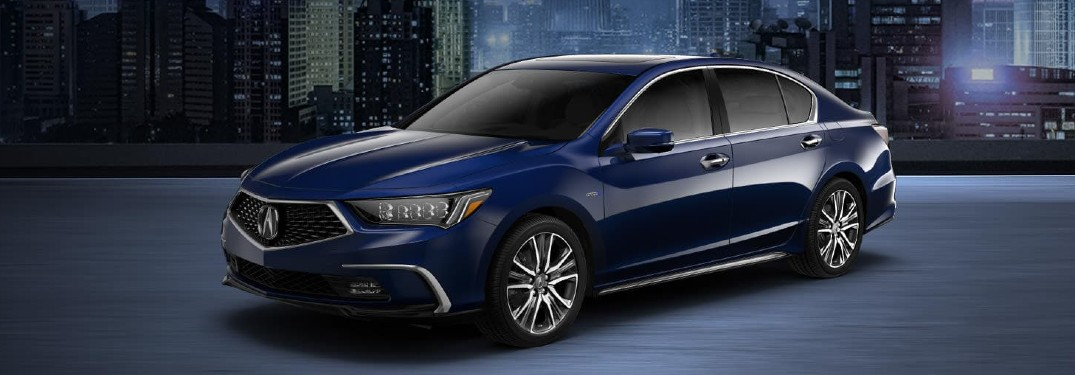 Which Comfort Features and Technologies are in the 2020 Acura RLX?