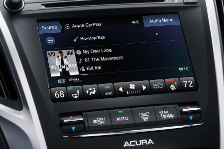On Demand Multi-Use Display 2.0 in the 2020 Acura TLX