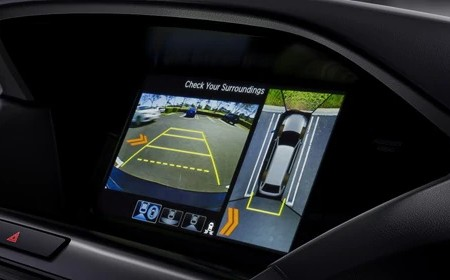 Surround-View Camera System in the 2020 Acura MDX