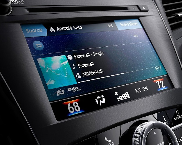 On-Demand Multi-Use Display 2.0 in the 2020 Acura ILX