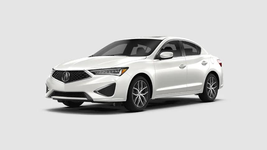 2021 Acura ILX Platinum White Pearl