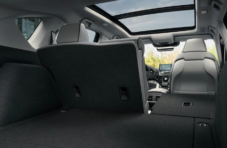 Cargo area inside the 2021 Acura RDX