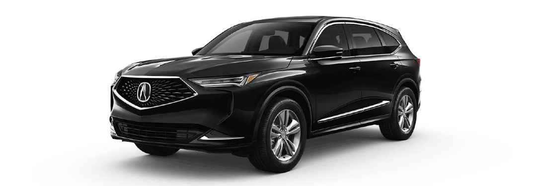 Which Features are Included Standard for the 2022 Acura MDX?