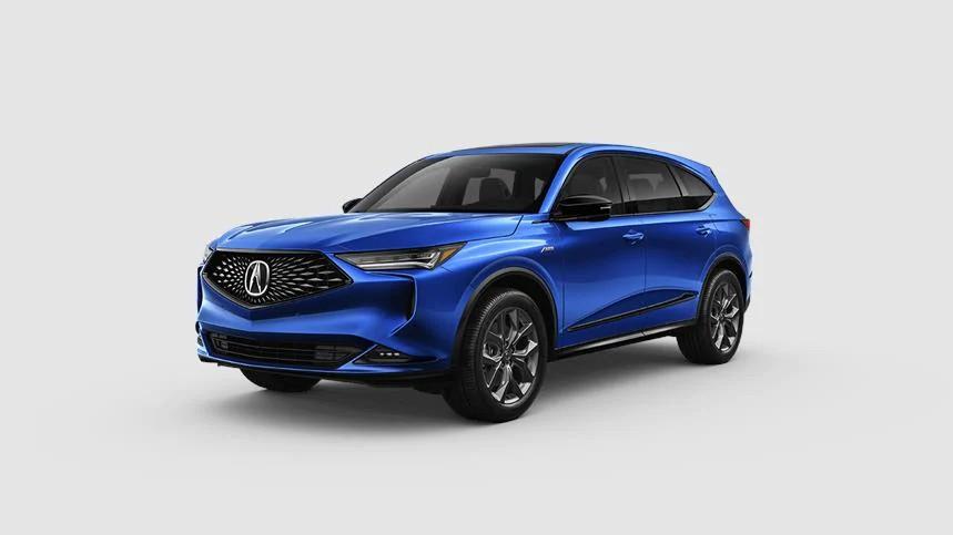 2022 Acura MDX Apex Blue Pearl