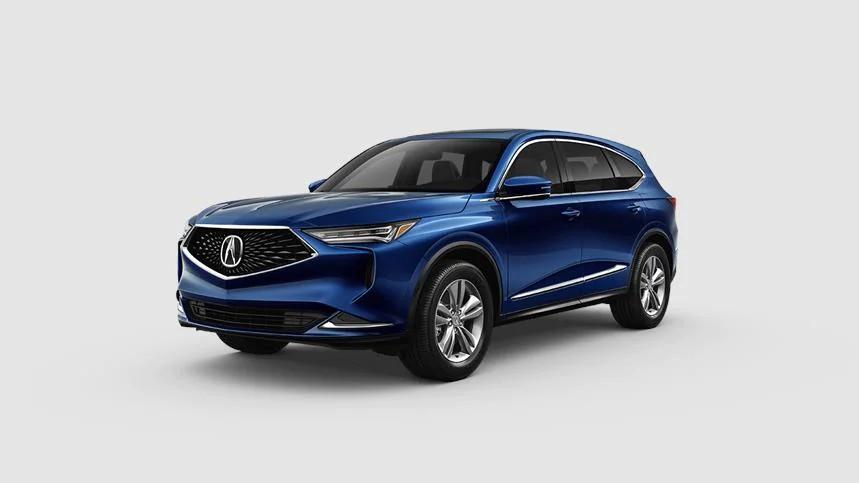 2022 Acura MDX Fathom Blue Pearl